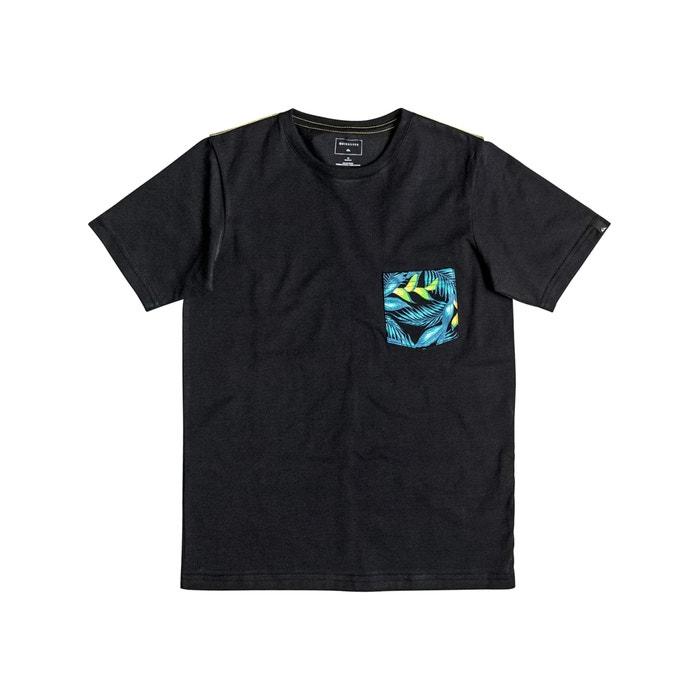 Image T-shirt z okrągłym dekoltem i krótkim rękawem QUIKSILVER