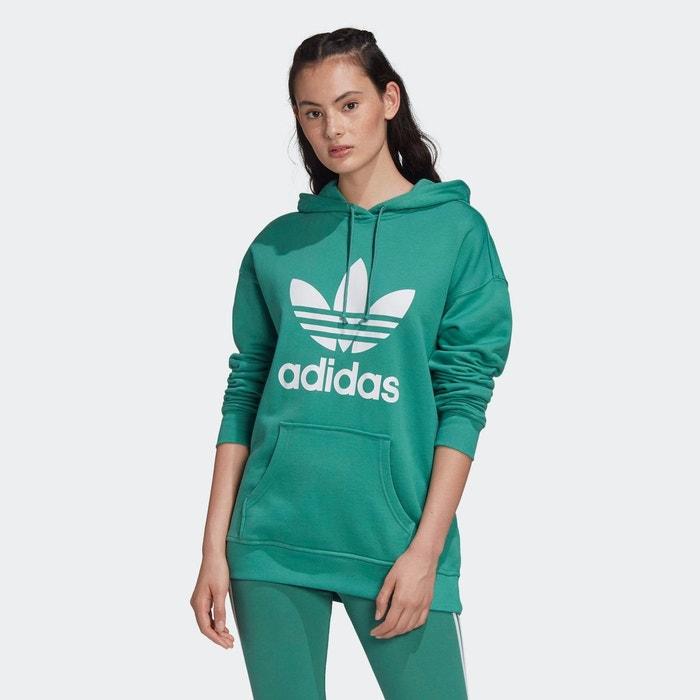sweat femme vert adidas