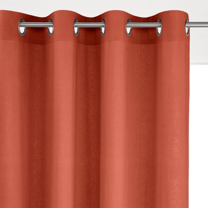 Odorie Linen/Viscose Single Eyelet Curtain