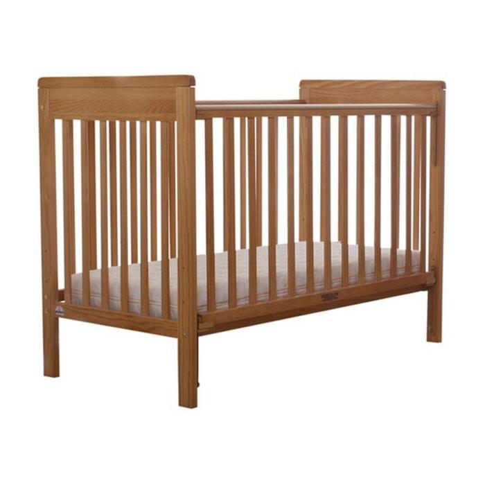 pack lit b b barri re coulissante avec matelas fox. Black Bedroom Furniture Sets. Home Design Ideas