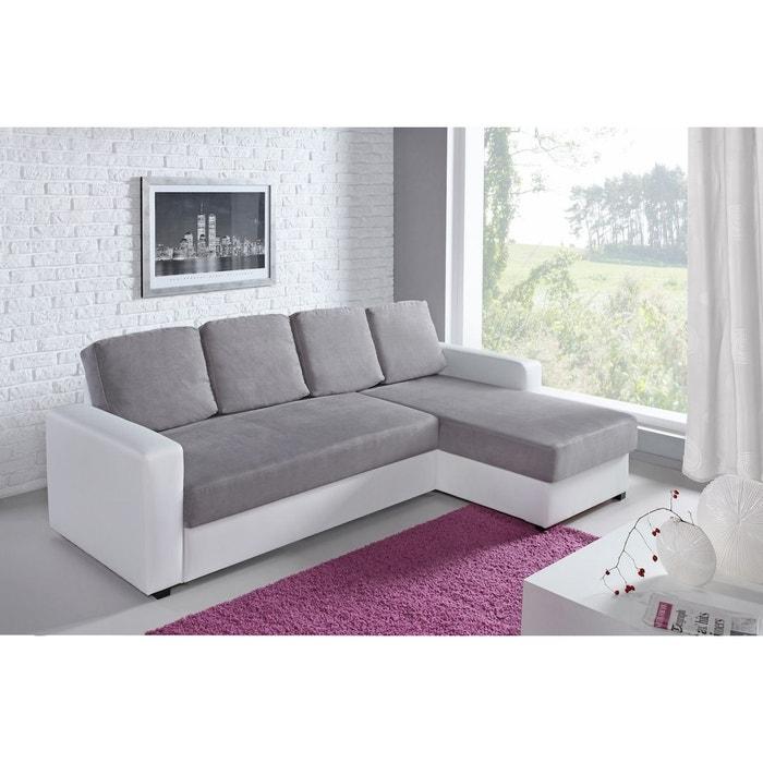 canap d angle fixe loft relaxima la redoute. Black Bedroom Furniture Sets. Home Design Ideas