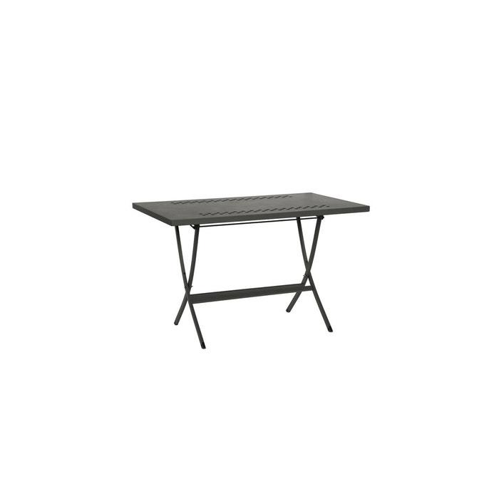 Table pliante hermes 120 anthracite rd italia la redoute - Table jardin la redoute ...