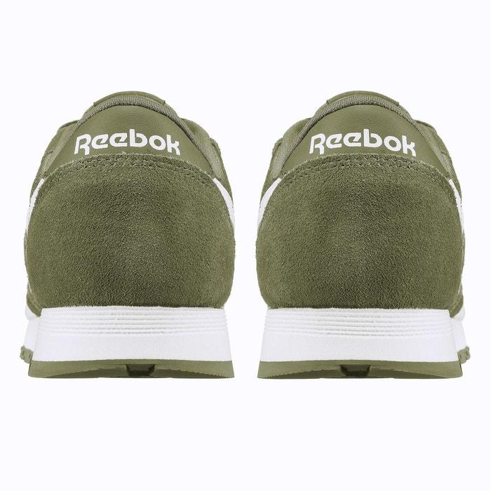 Basket classic nylon junior vert Reebok   La Redoute 3865ac46edd2