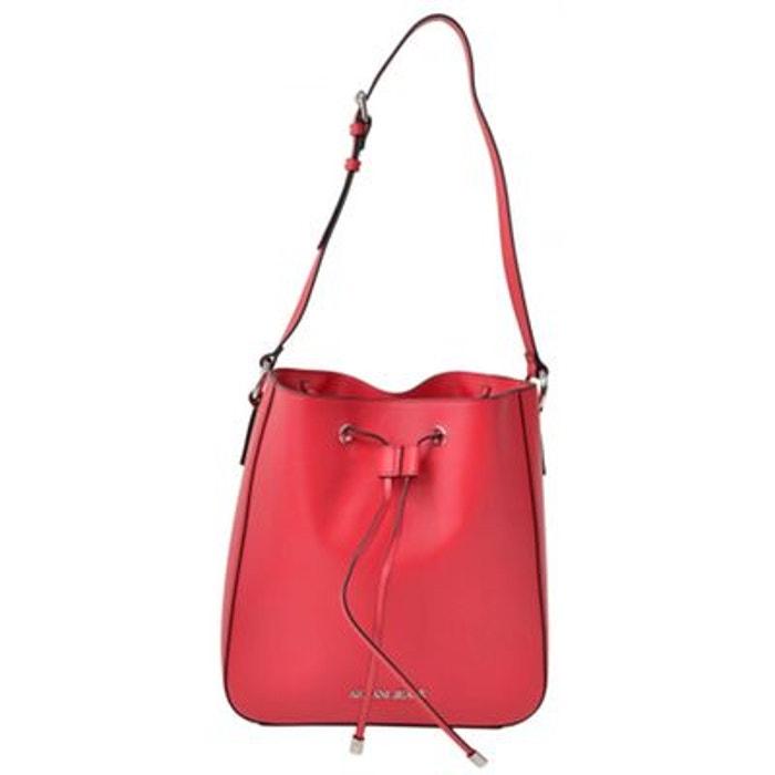 17cc0fd427dc Sac épaule rouge Armani Jeans   La Redoute