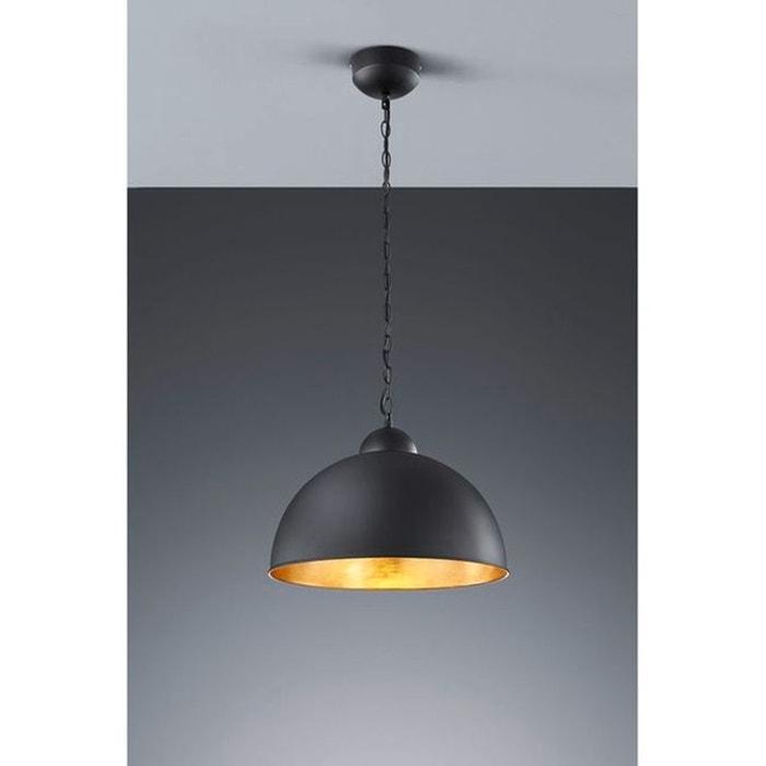 suspension romino noir trio lighting trio la redoute. Black Bedroom Furniture Sets. Home Design Ideas