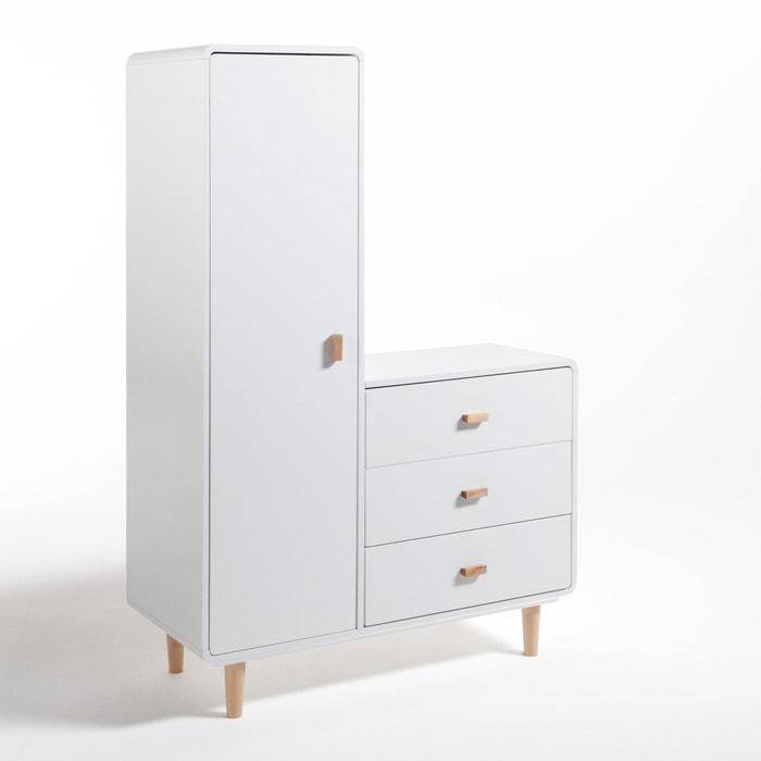Jimi Child's Wardrobe and Drawer Unit  La Redoute Interieurs image 0