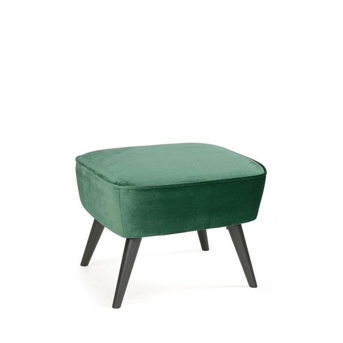 tabouret velours sara drawer la redoute. Black Bedroom Furniture Sets. Home Design Ideas