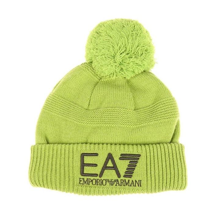 Bonnet acrylique vert Ea7 | La Redoute Sites Vente En Ligne qu548ICT8S