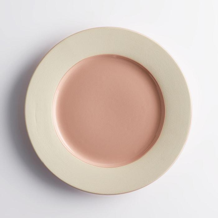Image Piatto piano ceramica, Warota (confezione da 4) La Redoute Interieurs