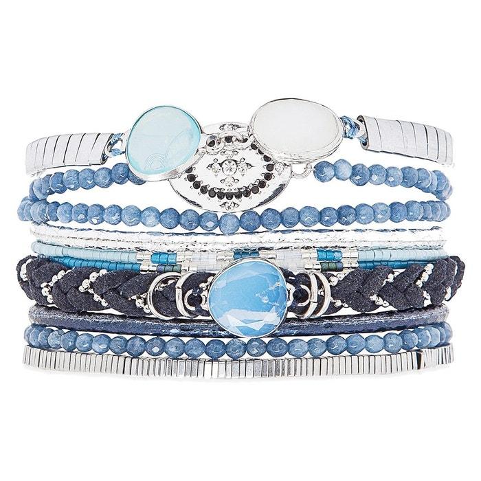 Bracelet femme bleu idylle bleu Hipanema | La Redoute Lieux De Sortie À Vendre SS78mvL