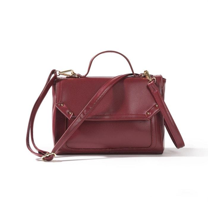 Le sac cartable bordeaux La Redoute Collections   La Redoute 33062f795f4