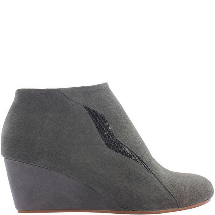 Chaussures femme en cuir farah red Pring Paris
