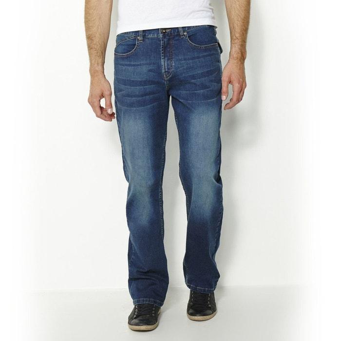 Jean regular, droit en coton CASTALUNA FOR MEN