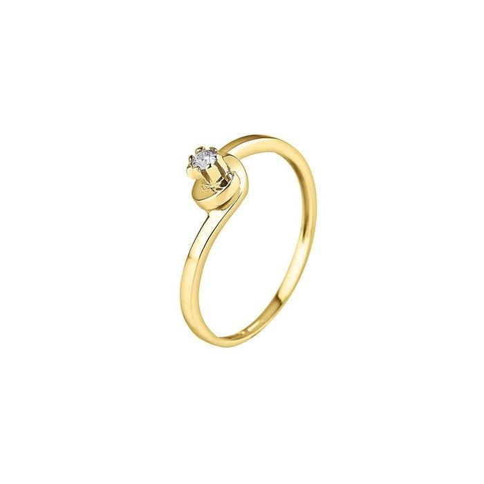 d410c458c0b Bague Solitaire Diamant - Or Jaune 750 Millièmes (18 Carats) - Disponible  de la