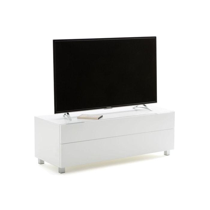 Meuble Tv Design Blanc Norwich Blanc La Redoute Interieurs La Redoute