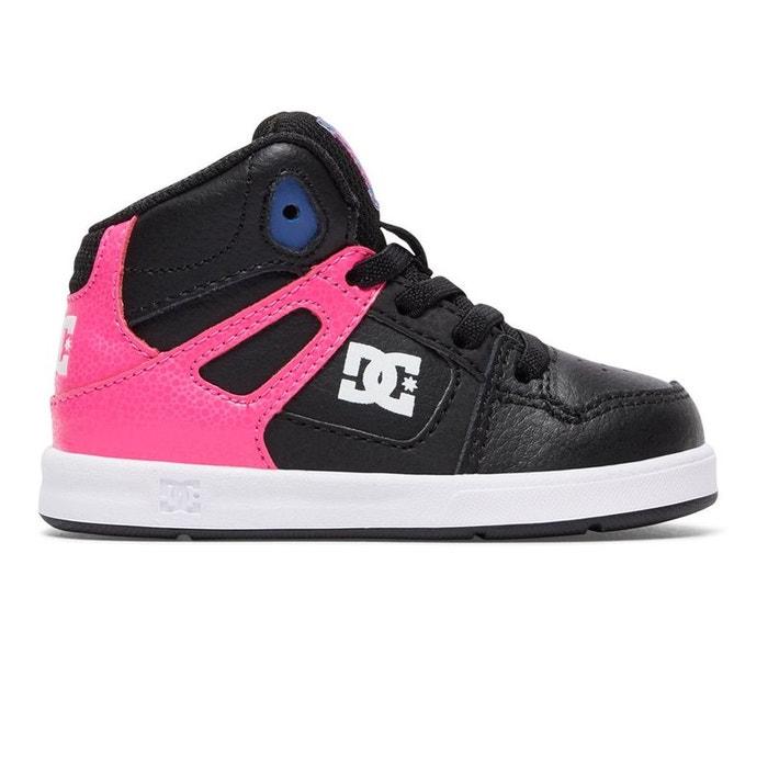 Dc Pinkblack Chaussures Ul Hautes Mi Rose Shoes Rebound La Redoute rYYFq