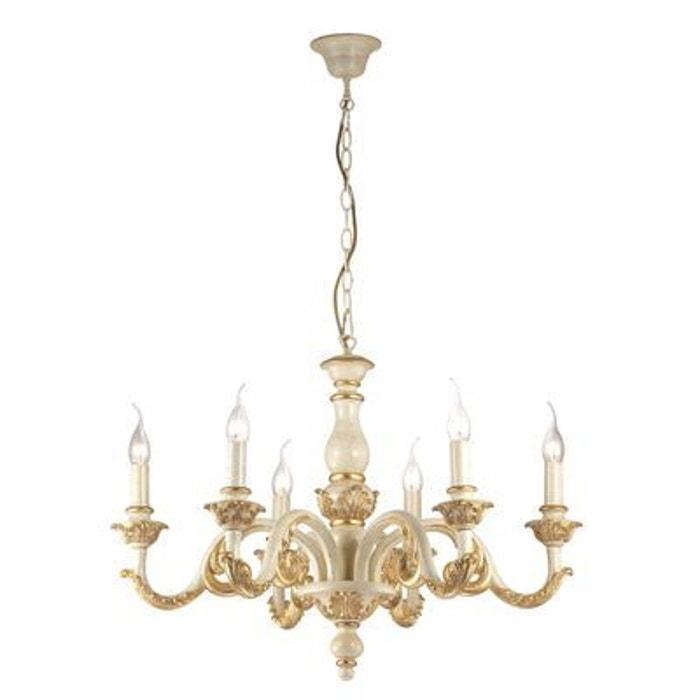 lustre giglio or 6x40w ideal lux 075327 boutica design la redoute. Black Bedroom Furniture Sets. Home Design Ideas