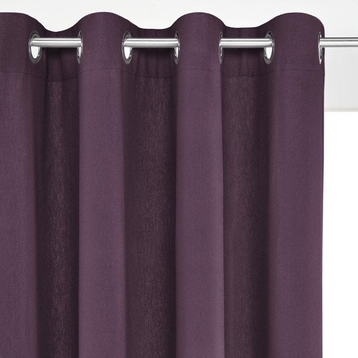 Image Rideau lin/coton œillets, TAÏMA La Redoute Interieurs