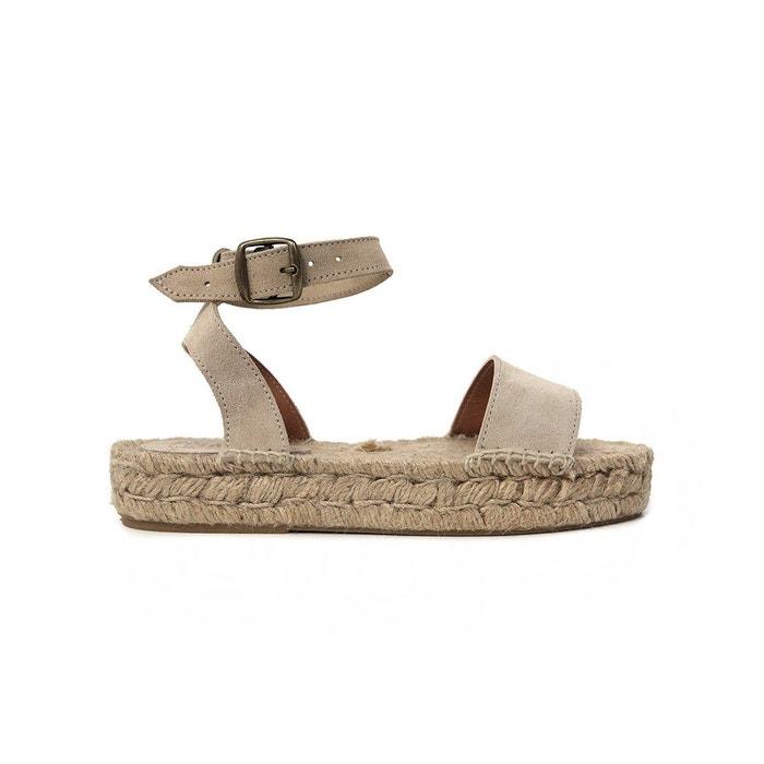 Sandale susan  beige Polka Shoes  La Redoute