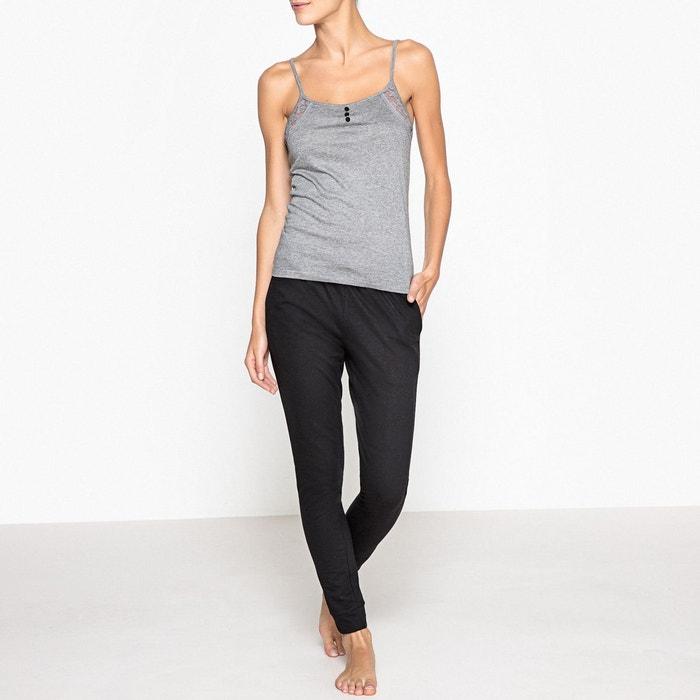 Pyjama, haut dentelle  La Redoute Collections image 0