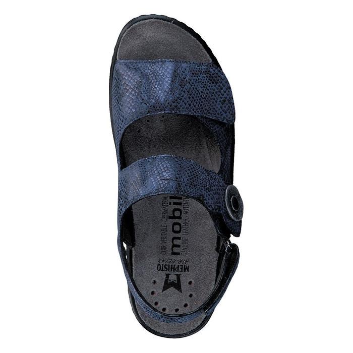 Sandales jissy bleu marine Mephisto