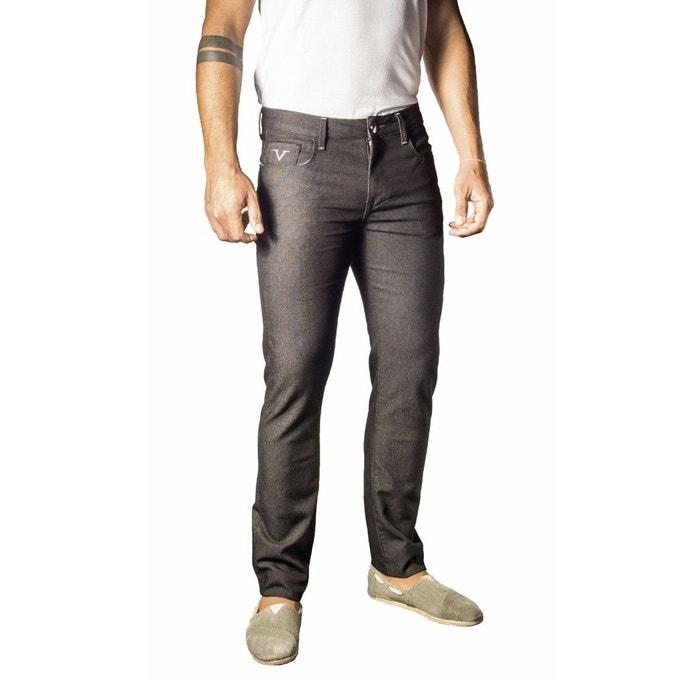 pantalon jeans coton elastane livr avec son etui cadeau versace la redoute. Black Bedroom Furniture Sets. Home Design Ideas
