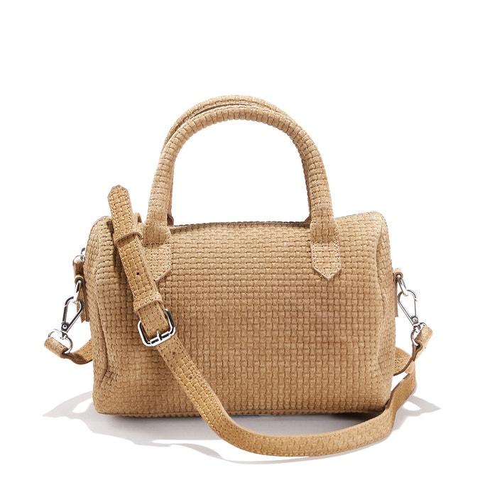 Suede Handbag  La Redoute Collections image 0