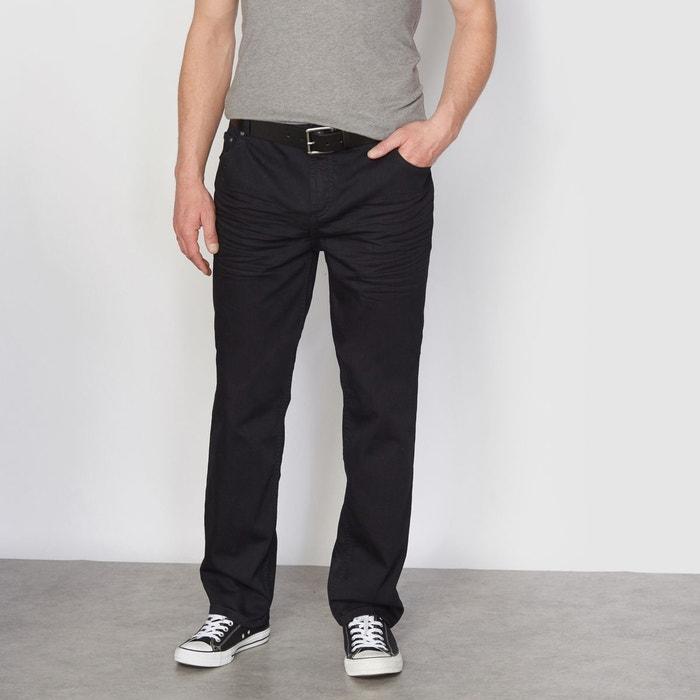 Jean stretch noir surteint semi-élastiqué CASTALUNA FOR MEN