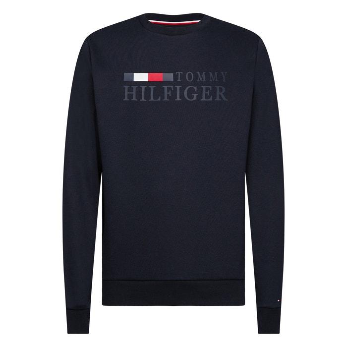 Sweatshirt mit rundem Ausschnitt Basic Hilfiger