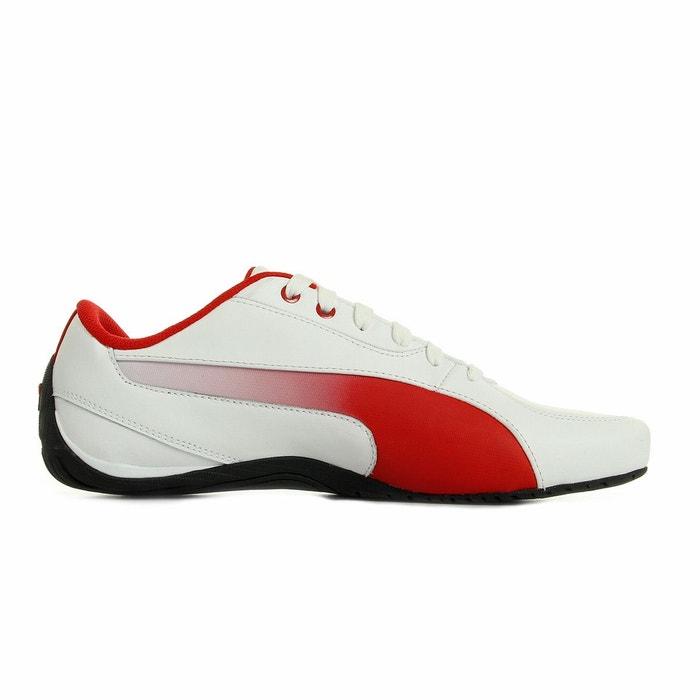 Basket basse drif cat 5 sf blanc/rouge Puma