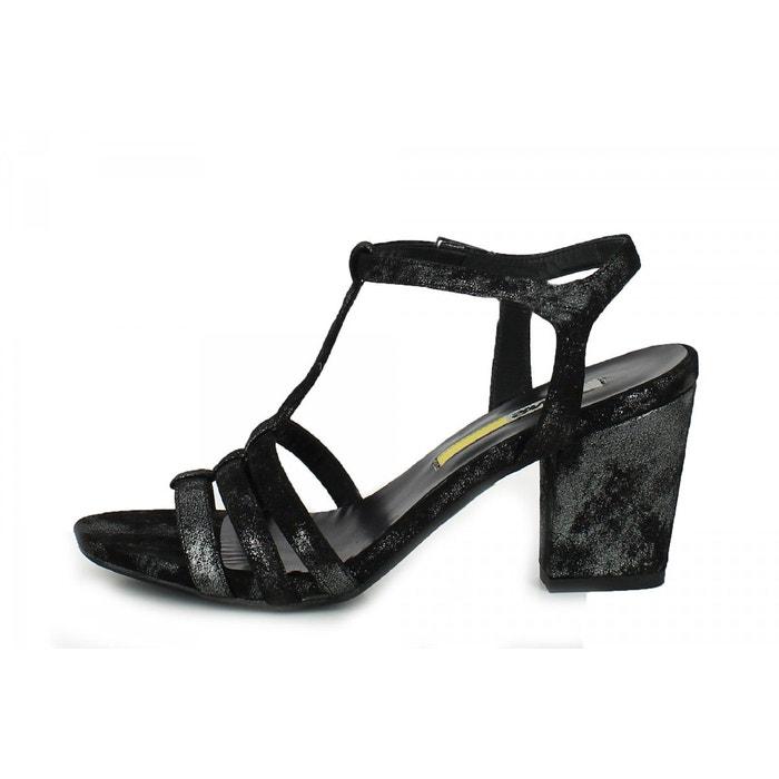 Sandales noir Manas