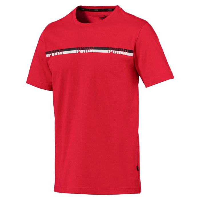 Camiseta con cuello redondo de manga corta, con estampado delante  PUMA image 0
