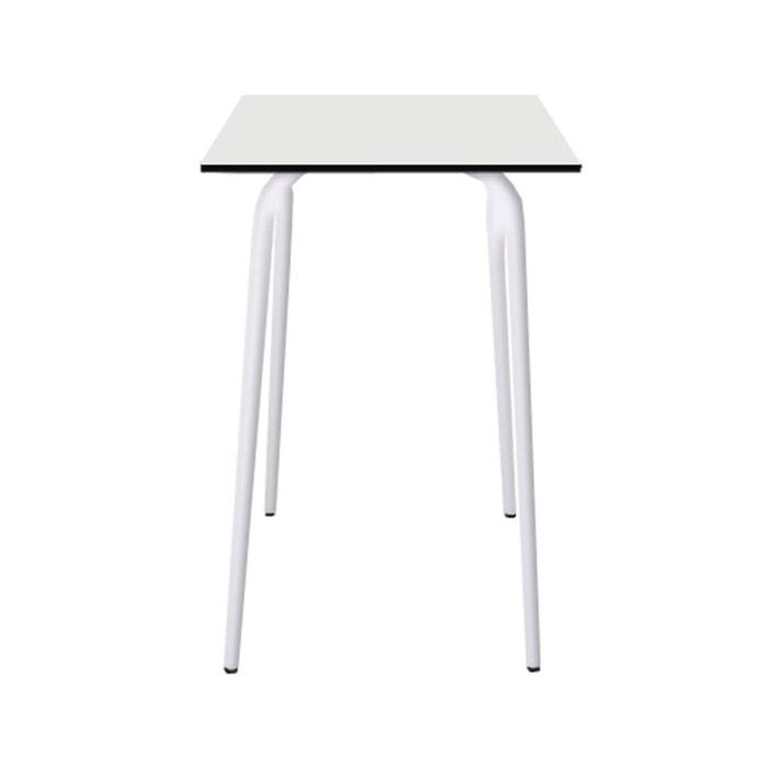 Table haute en formica vera 70x70cm les gambettes la redoute - Table haute la redoute ...