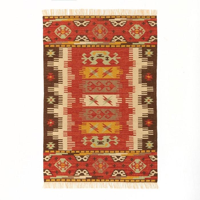 tapis tiss plat motif kilim sibilant multicolore am pm la redoute. Black Bedroom Furniture Sets. Home Design Ideas
