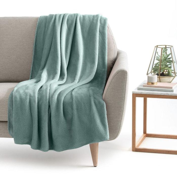 plaid microfibre mild la redoute interieurs la redoute. Black Bedroom Furniture Sets. Home Design Ideas