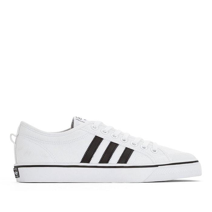 09f10487136d Baskets toile nizza blanc Adidas Originals | La Redoute