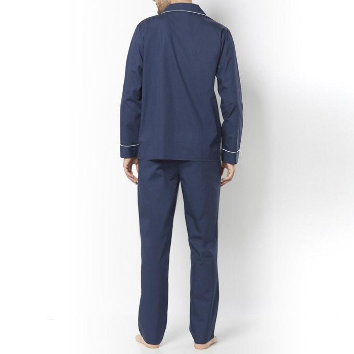 Image Pyjama veste col tailleur, pur coton La Redoute Collections