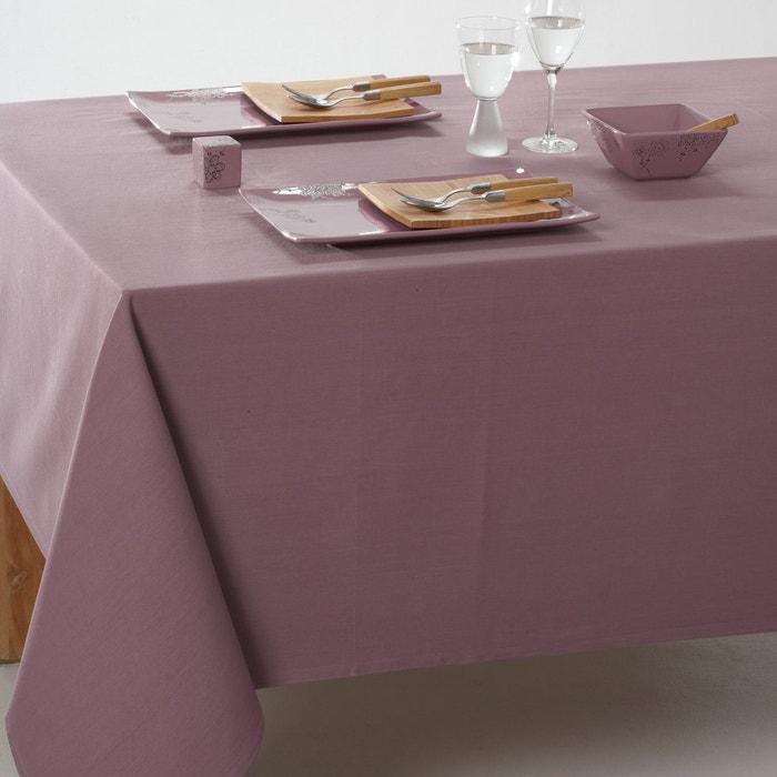Toalha de mesa em algodão revestido liso SCENARIO