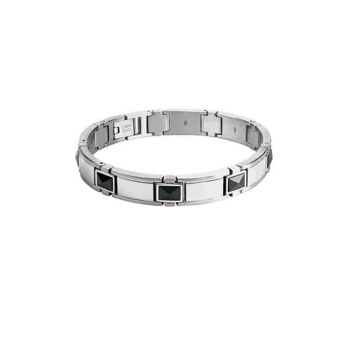 100% Authentique À Vendre Bracelet acier et céramique 'apollo' argent Rochet | La Redoute Obtenir Authentique En Ligne bPZLs