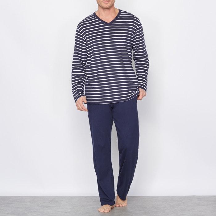 Image Cotton Jersey Pyjamas CASTALUNA FOR MEN