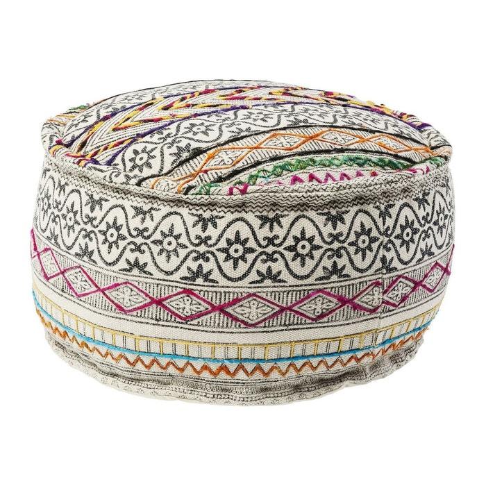 pouf gaga colore kare design multicolore kare design la redoute. Black Bedroom Furniture Sets. Home Design Ideas