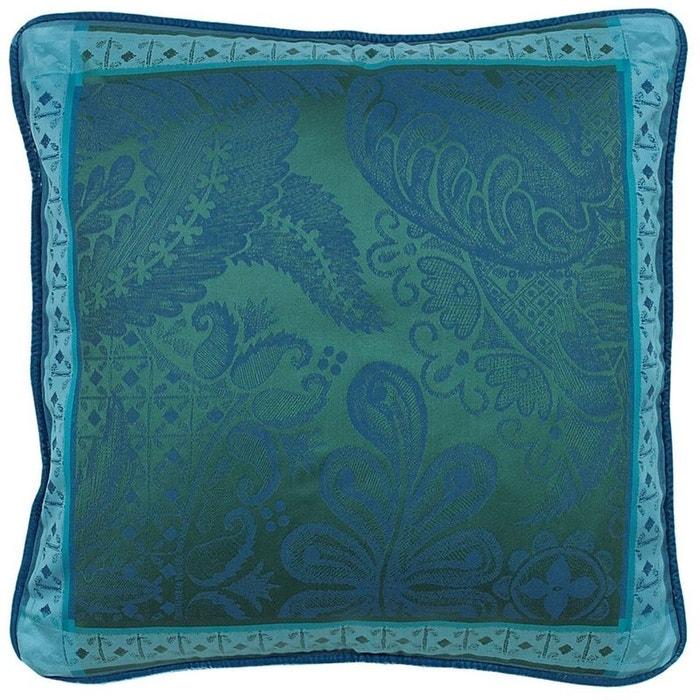 housse de coussin isaphire emeraude vert garnier thiebaut la redoute. Black Bedroom Furniture Sets. Home Design Ideas