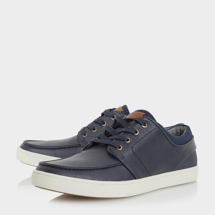 Chaussures à lacets sport - thacker bleu marine synthétique Dune London
