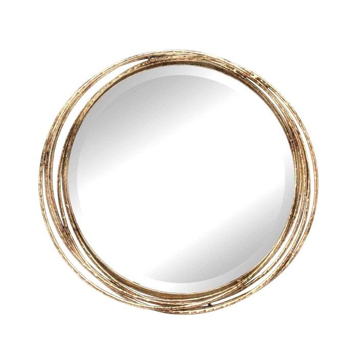 miroir design cercles entrelac s or emde premium la redoute. Black Bedroom Furniture Sets. Home Design Ideas