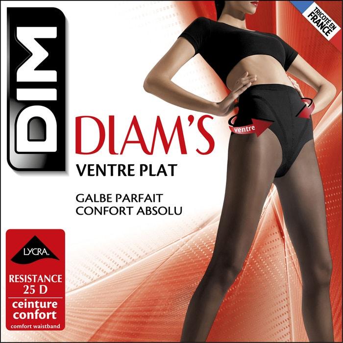 afbeelding Panty's Diam's, platte buik 25 Deniers DIM