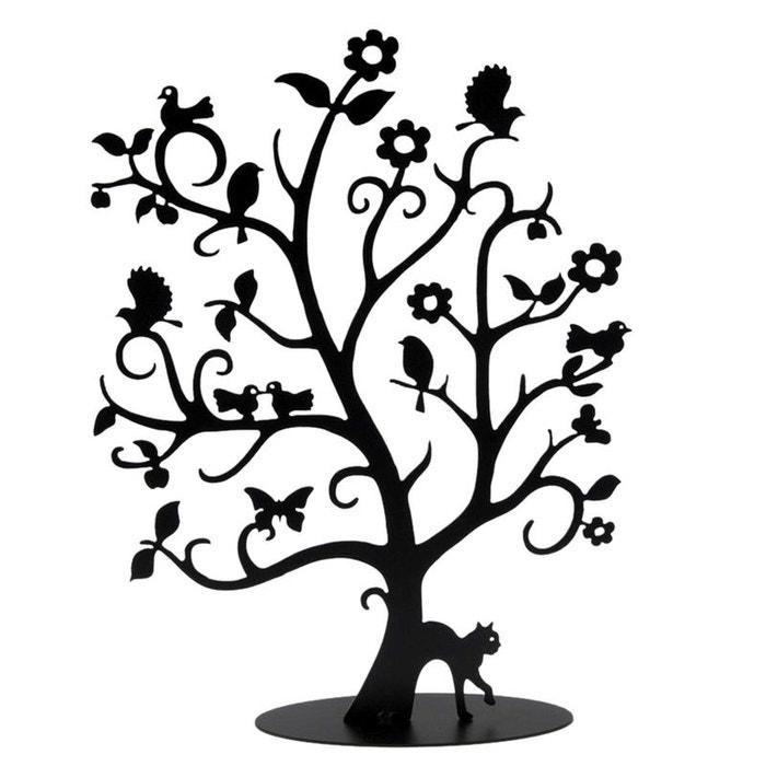 arbre bijoux alice finition noire mat noir atelier jouvenaud la redoute. Black Bedroom Furniture Sets. Home Design Ideas