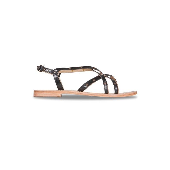Sandales ines studs noir Bons Baisers De Paname Footaction Vente Pas Cher 0MLPO0Z