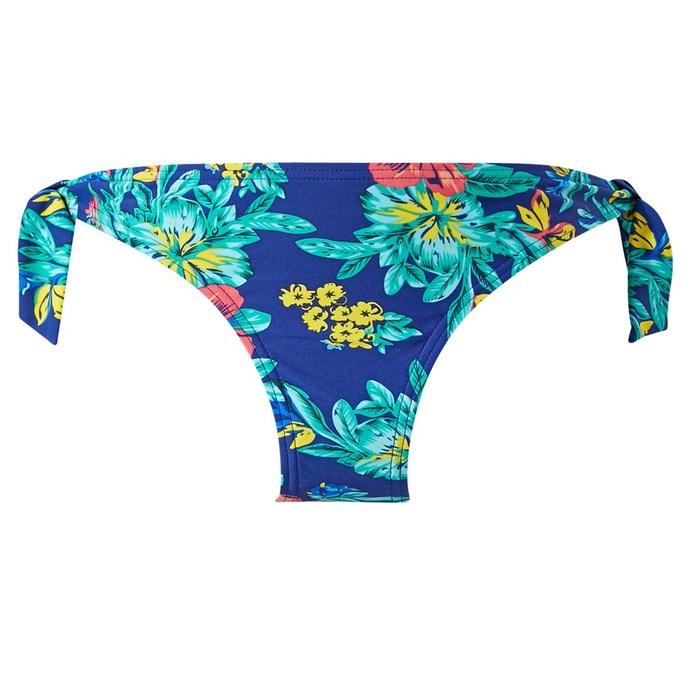 palmier maillot de bain slip midi bleu rougegorge lingerie la redoute. Black Bedroom Furniture Sets. Home Design Ideas