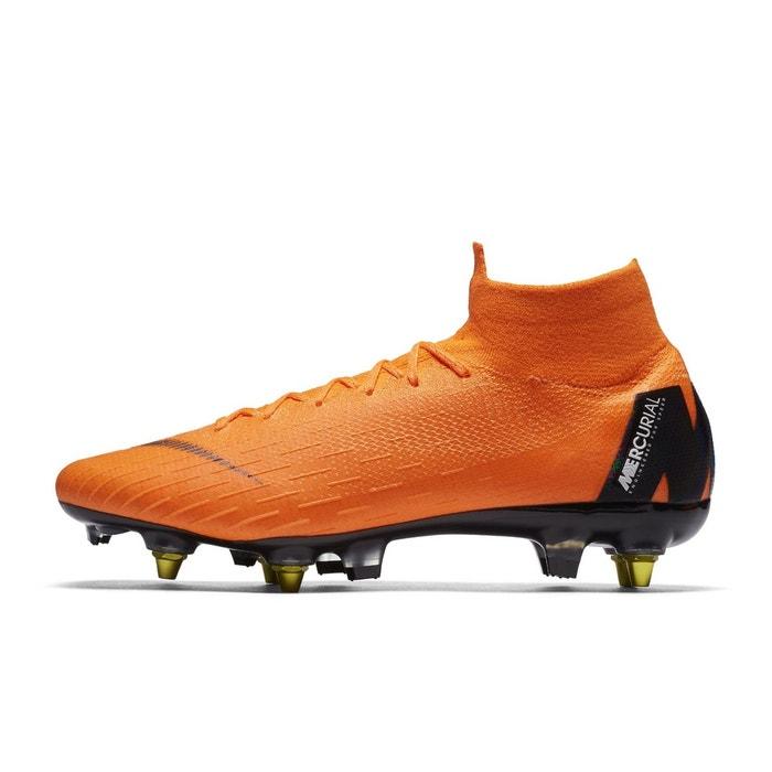 Chaussures football chaussure de football nike mercurial superfly 360 vi  elite sg-pro anti-clog orange orange Nike   La Redoute 56bb0a733981