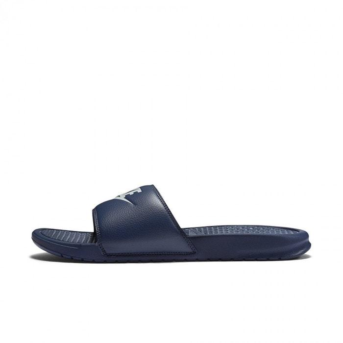 timeless design e1f1d 65db0 Claquettes benassi jdi bleu Nike   La Redoute